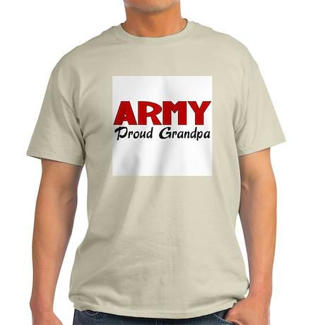 Army Grandpa (red) Light T-Shirt