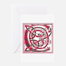 Monogram - Cameron Greeting Card