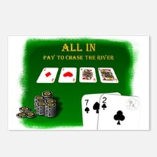 Chase the River Postcards (Package of 8)