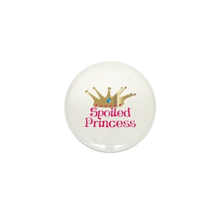 Spoiled Princess Mini Button (10 pack)