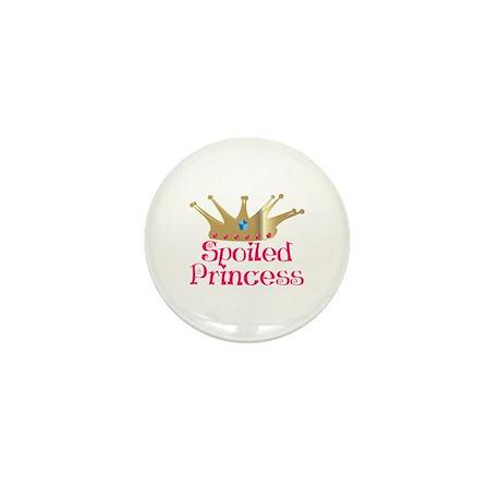 Spoiled Princess Mini Button
