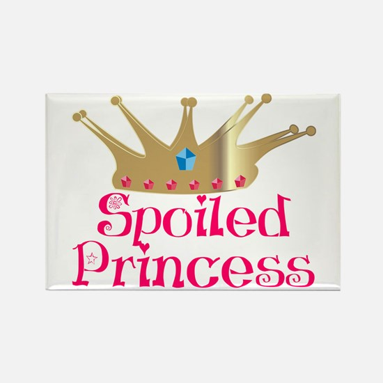 Spoiled Princess Rectangle Magnet