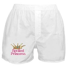 Spoiled Princess Boxer Shorts
