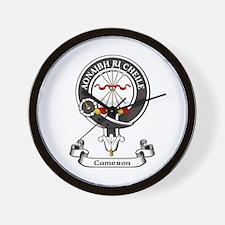 Badge - Cameron Wall Clock