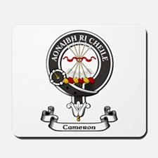 Badge - Cameron Mousepad
