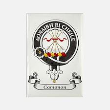 Badge - Cameron Rectangle Magnet