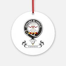 Badge - Cameron Ornament (Round)