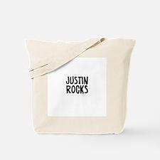 Justin Rocks Tote Bag