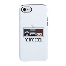 Retro Cool Man iPhone 8/7 Tough Case