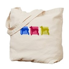 Color Row Ibizan Hound Tote Bag
