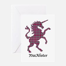 Unicorn - MacAlister Greeting Card