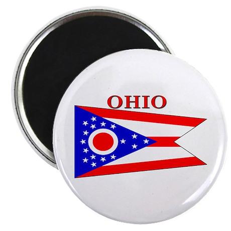 Ohio State Flag Magnet