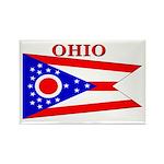 Ohio State Flag Rectangle Magnet