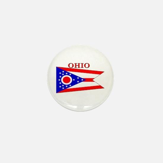 Ohio State Flag Mini Button