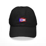 Ohio State Flag Black Cap