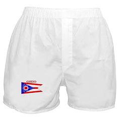 Ohio State Flag Boxer Shorts
