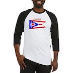 Ohio State Flag Baseball Jersey