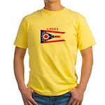 Ohio State Flag Yellow T-Shirt