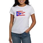 Ohio State Flag Women's T-Shirt