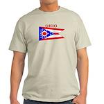Ohio State Flag Light T-Shirt