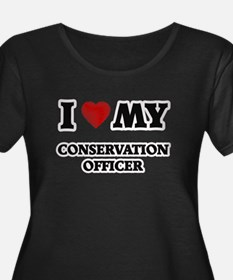 I love my Conservation Officer Plus Size T-Shirt
