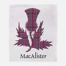 Thistle - MacAlister Throw Blanket