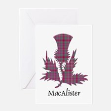 Thistle - MacAlister Greeting Card