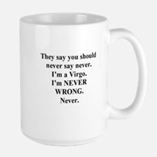 Virgo Humor Mug