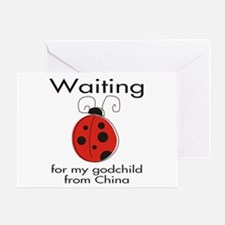 Waiting Godparent Greeting Card