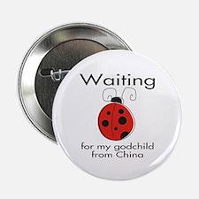 "Waiting Godparent 2.25"" Button"