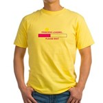 PRINCESS LOADING... Yellow T-Shirt