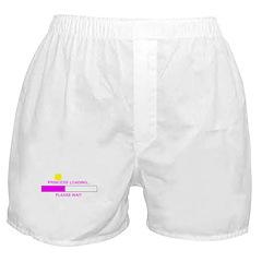 PRINCESS LOADING... Boxer Shorts