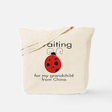 Waiting Grandparent Tote Bag