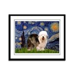 Starry / OES Framed Panel Print
