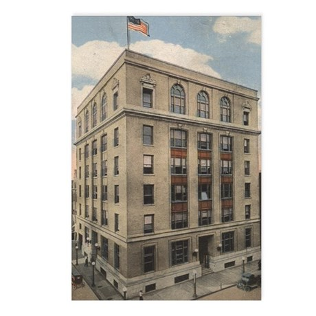 Vintage City Hall Postcards (Package of 8)