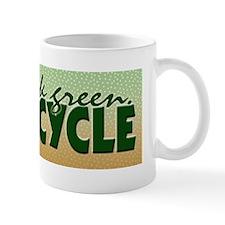 Think Green. Recycle Mug