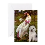 Windflowers / OES Greeting Card