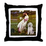 Windflowers / OES Throw Pillow