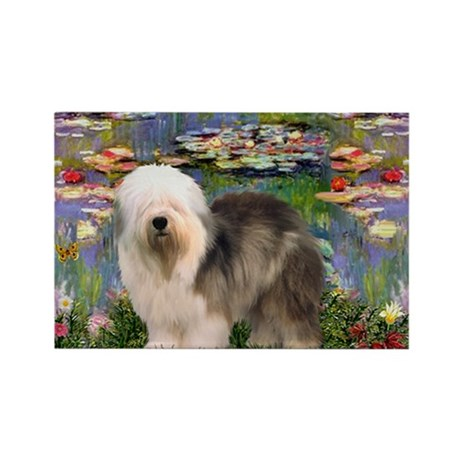 Lilies / OES Rectangle Magnet (10 pack)