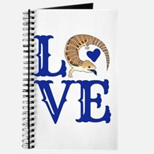Love Blue Tongued Skink Journal