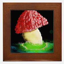 Giant Mushroom Framed Tile