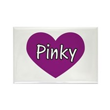 Pinky Rectangle Magnet