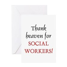 Thank Heaven SW BRT Greeting Card