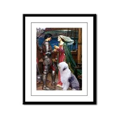 Tristan / OES Framed Panel Print