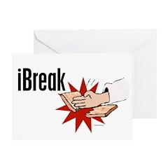 iBreak 1 Greeting Card