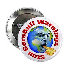 "GoreBull Warnings 2.25"" Button (10 pack)"