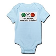You Bet Your Bocce Balls Infant Bodysuit