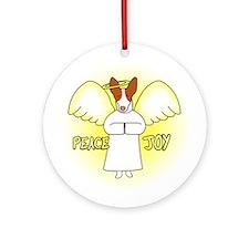 Peace Joy R&W Ibizan Hound Christmas Ornament