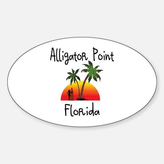 Alligator Point Florida Decal