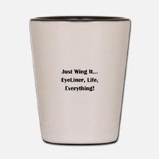 Funny Reality shows Shot Glass